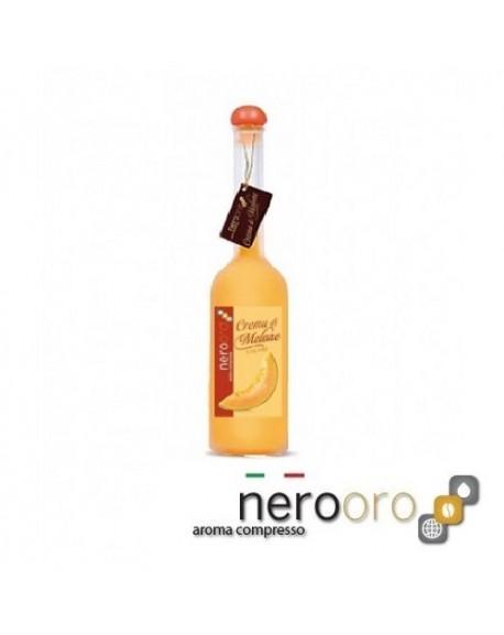 Crema di Melone Nerooro Liquore in Bottiglia 20 cl - 17 Vol Prodotto Artigianale