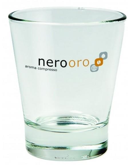 Set da 6 Bicchierini in Vetro Nerooro