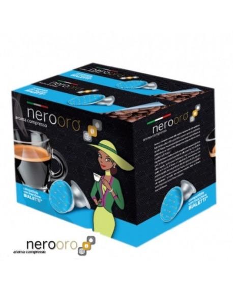 600 Capsule Caffè Nerooro Bialetti Miscela ORO